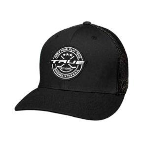 Hockey Patch Snapback Hat